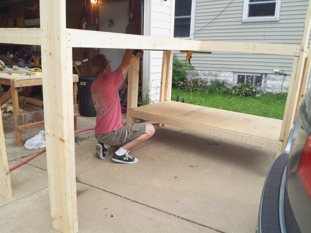 build bunk beds plans